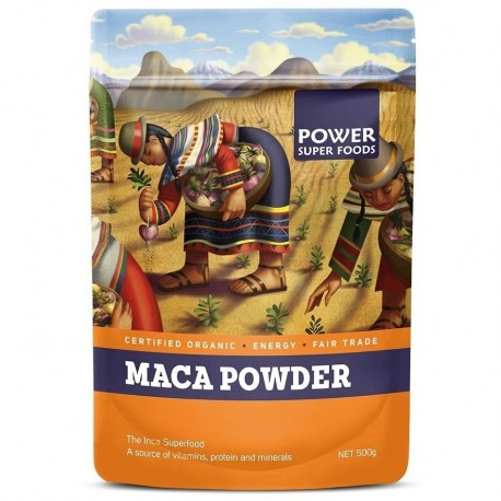 Maca Power Raw Organic Maca Powder